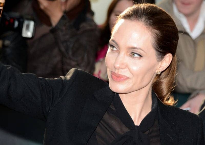 Angelina Jolie may have undergone a chin augmentation for a longer jawline.