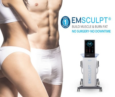 EMSCULPT technology helps men and women achieve their fitness goals faster than they would at a gym