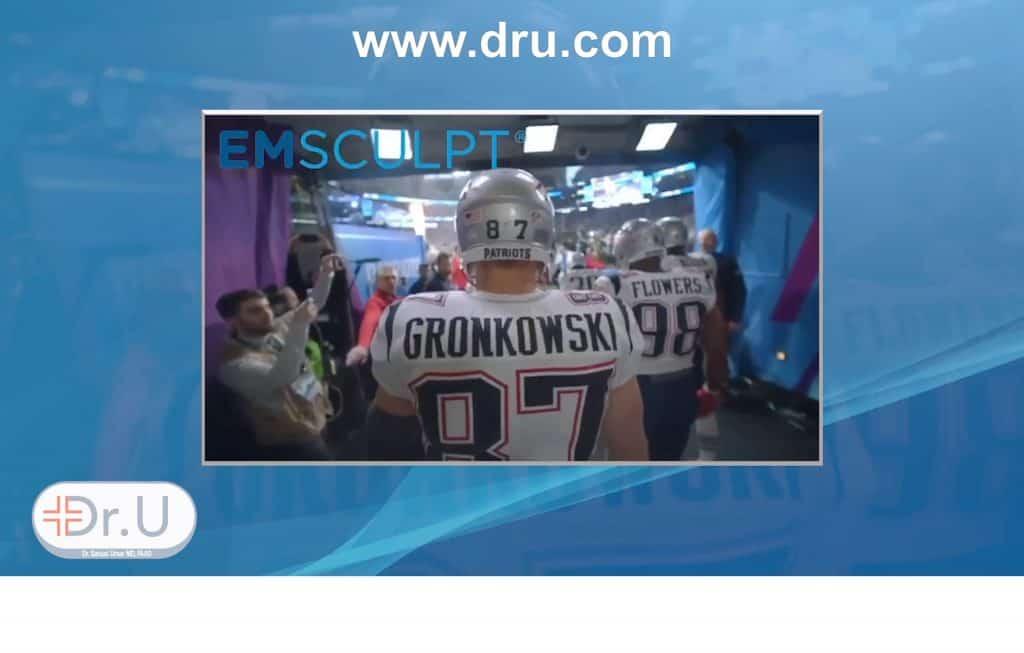 Rob Gronkowski loves Emsculpt