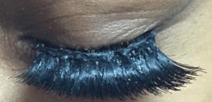 false eyelashes look fake