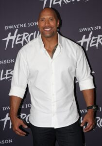 Actor, Dwayne Johnson, former wrestler, had gynecomastia surgery in 2005.