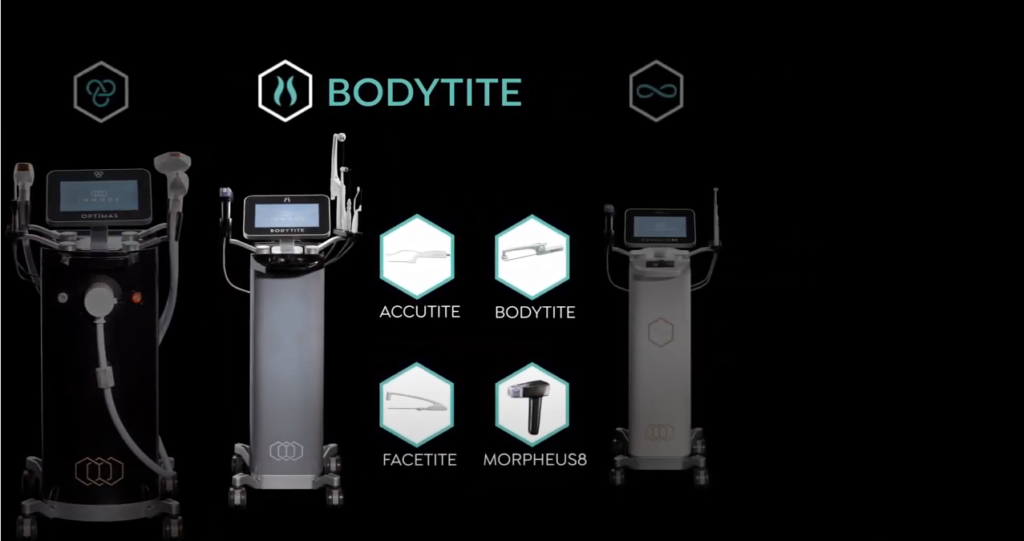 BodyTite contouring technology uses RFAL (radiofrequency assisted liposuction) as a nonsurgical gynecomastia treatment