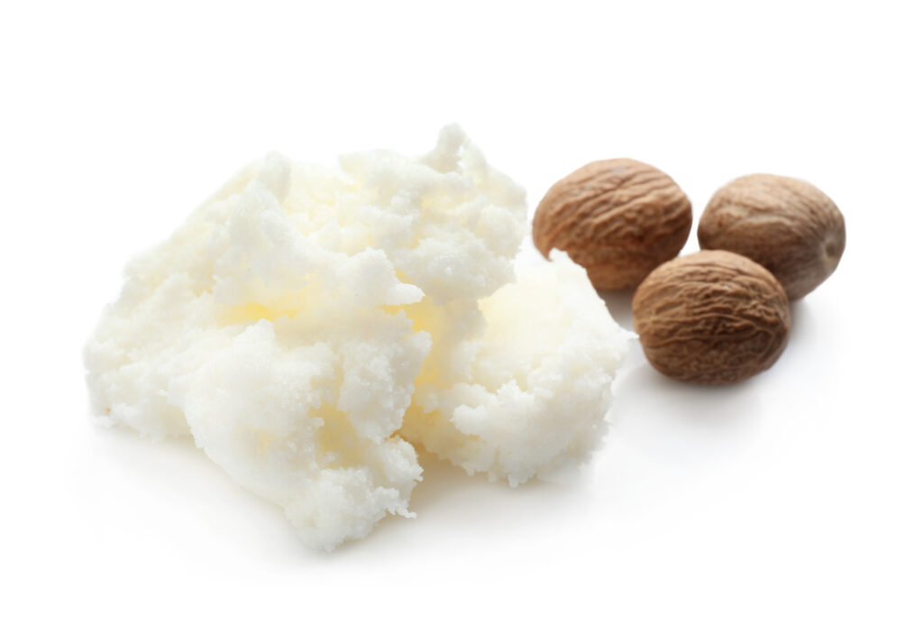 Shea butter moisturizes and protects the hair