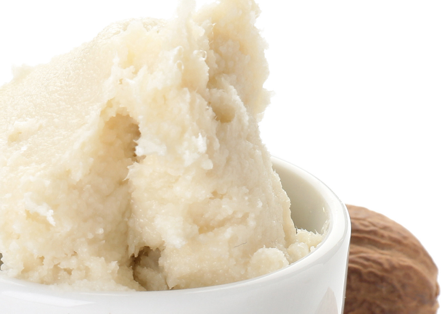 Shea butter can be whipped, or used as store-bought butter for a variety of fun DIY projects
