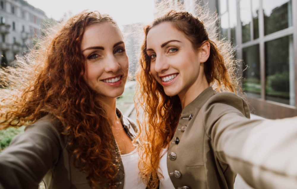 Identical twins have the same set of DNA and help us understand which health factors are caused by genetics versus our environment